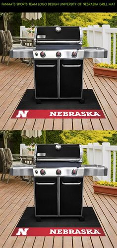 Fanmats Sports Team Logo Design University of Nebraska Grill Mat #rug #products #camera #outdoor #parts #racing #area #fpv #cooking #gadgets #kit #drone #technology #plans #tech #shopping