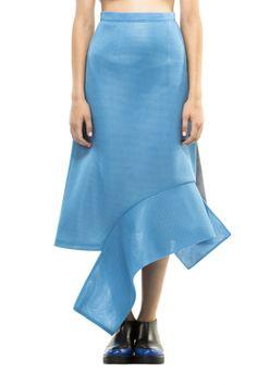 blue skirt by Atelier Kikala #fashion