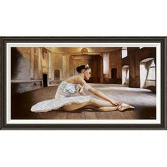 """Global Gallery 'Rehearsal' by Pierre Benson Framed Painting Print on Canvas Size: 22"""" H x 40"""" W x 1.5"""" D"""