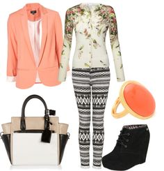 """prints"" by mafer-cisneros on Polyvore"