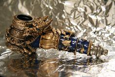Golden Dragon Pipe - Custom 2 by *JohnsonArms on deviantART
