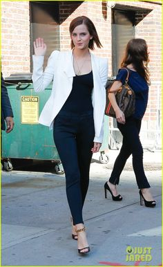 Emma Watson at the 'Late Show with David Letterman' (Sept. 5)