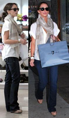 Jennifer Love Hewitt - cute and casual