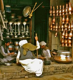 Pots and pans - Kunduz, Kunduz . Afghanistan