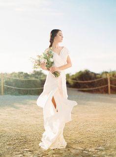 Ethereal Rose Quartz Bridal Inspiration in Ibiza