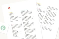Great Breanna Rose series on pricing for freelancers (+ beautiful price sheet inspo!)