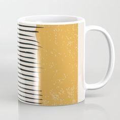 Modern Minimalist, Mid-century Modern, Unique Coffee Mugs, Tea Mugs, Wraparound, Drinkware, Coffee Cups, Microwave, Dishwasher
