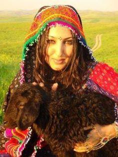 Traditional Pashtun goat-herder