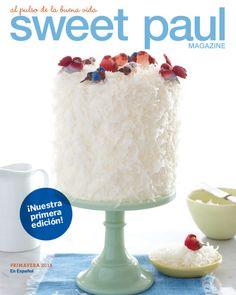 (via Sweet Paul - Lemon Curd Coconut Cake Recipe) Lemon Curd Dessert, Pretty Cakes, Beautiful Cakes, Amazing Cakes, Beautiful Things, Cupcakes, Cupcake Cakes, Just Desserts, Delicious Desserts