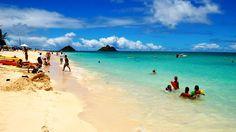 Lanikai Beach @Danielle Lampert Lampert Campbell @Alesha Castillo Castillo Haley