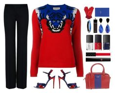 """""""Gucci tiger sweater"""" by rasc2016 ❤ liked on Polyvore featuring Gucci, STELLA McCARTNEY, ..,MERCI, Giorgio Armani, Alexis Bittar, NARS Cosmetics, Christian Dior, Gizelle Renee, Smythson and Sweater"""