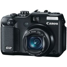 Canon G12 10 MP Digital Camera with 5x Optical Image Stabilized Zoom and 2.8 Inch Vari-Angle LCD $399.99