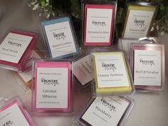 12 Six Packs Wax Melts - Choose from 160 scents -100% American Soy- Maximum Scented on Etsy, $29.00