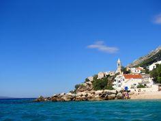 The small place Pisak in Croatia