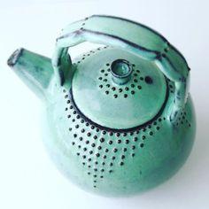 Handmade Ceramic Teapot | BackBayPottery on Etsy