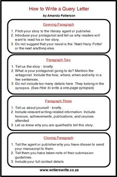 How to write a query letter that gets results immediately how to write a query letter that gets results immediately writing pinterest writing help writing ideas and homeschool spiritdancerdesigns Image collections