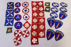 shopgoodwill.com: Lot Of Military Patches