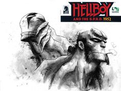 Abe Sapien and Hellboy by Max Fuimara *