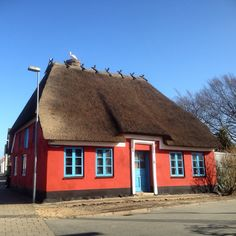 Old house in Skærbæk, Jutland, Denmark (South of Ribe)