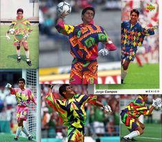 94479e89fe7 7 best Jorge Campos images | Football cards, Football jerseys ...