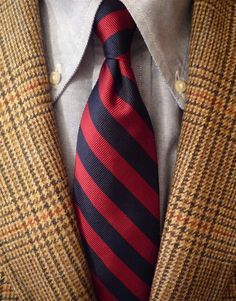 heavytweedjacket:    Tweed Friday. Robert Noble/J. Press jacket Mercer & Sons shirt B repp tie. Cold rain and wind. Summertime done come and gone.