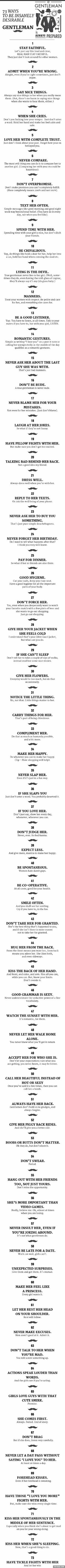 The guide of a gentleman