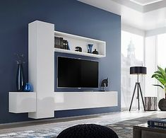 Details about Boise IX - modern entertainment center / tv cabinets / television wall unit : Picture 2 of 11 Entertainment Wall Units, Entertainment Center Wall Unit, Tv Unit Decor, Tv Wall Decor, Tv Cabinet Design, Tv Wall Design, Bedroom Tv Unit Design, Tv Wanddekor, Modern Tv Wall Units