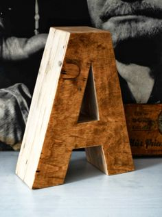 A z głębią wooden letters www.littlewood.pl