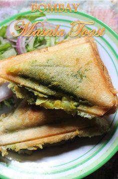 YUMMY TUMMY: Bombay Masala Toast Recipe / Potato Masala Toast Recipe