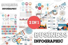 @newkoko2020 32% OFF Business Infographic Bundle by Infographic Paradise on @creativemarket #infographic #infographics #bundle #download #design #template #set #presentation #vector #buy #graph #discount