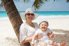 Tips for a first holiday abroad with a baby