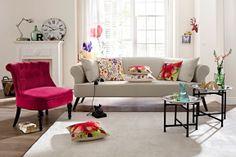 Die Tische wirken besonders schön in Kombination. #homestory #home #interior #couch #furniture #designer