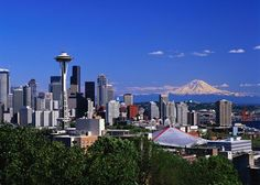 Seattle. Skyline. Mountains. Water. Perfection.