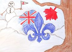 I am from Canada. It is the largest country in the world. The majority of Canadians are fluent in both of our official languages, English and French. Our most recognized symbol is our beloved maple leaf, but it did not actually become the center of our flag until 1965.