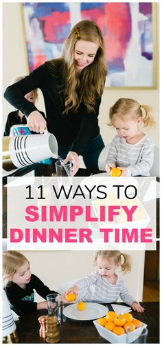 11 ways to simplify dinner time. How to make dinner time easier. Dinner time made easy. Dinner time ideas. Family dinner time. Simple family dinner. Thai Chicken Noodles, Dinner This Week, Easy Family Dinners, Quotes About Motherhood, Mom Outfits, Breakfast Time, Meals For The Week, How To Cook Chicken, Parenting Hacks