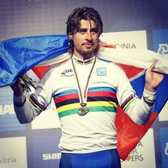 We're going to let this pic speak for itself... #WorldChamp  #Richmond2015!!! #cycling #TinkoffSaxo @petosagan
