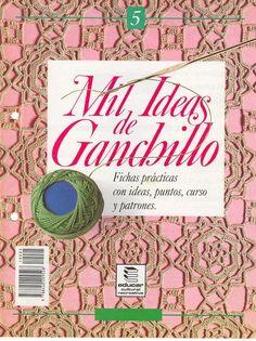 Revistas de Crochet Ideas de Ganchillo - Patrones Crochet