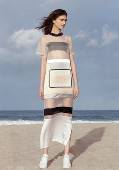 """Karla Spetic. """"Spring Summer 14 by Bowen Arico"""