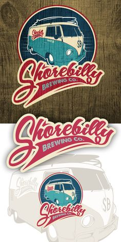 Shorebilly Brewing Co. logo design by pmo