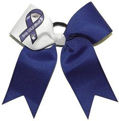 Child Abuse Awareness Bow