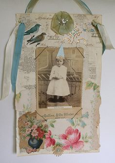 pretty collage by Pam Garrison