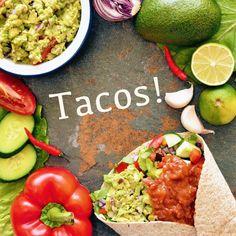Tacos! Receptet hittar du i meny 2. Hoppas att du får en mysig fredag! 😊