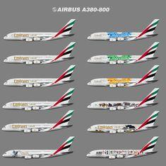 Emirates Airbus, Emirates Airline, Airbus A380, Microsoft Flight Simulator, Plane Photos, Airplanes, Aircraft, Commercial, Presentation