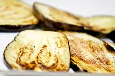 """Roasting eggplant for a hands-on """"Trattoria Pasta"""" cooking class with San Diego Chef Brad.  The dish being prepared was a classic Sicilian dish called """"Pasta a la Norma.""""  The photo links to the recipe and its background."""