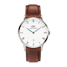 The Dapper St Mawes (38mm) in Silver by Daniel Wellington