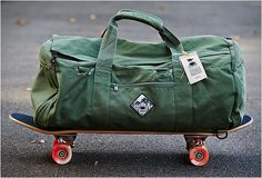 JOEL TUDOR DUFFLE BAG | BY VANS Because what I really need is another bag!
