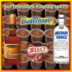 Butterfinger pudding