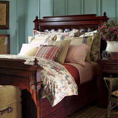 ralph lauren's home in colorado   - Lauren Ralph Lauren Lake House King Duvet - Floral : The Home ...