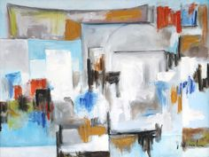 """Artblend Gallery Welcomes Artist Joseph H. Muraskin """"I paint what I see and what I feel."""" Artwork Shown: Jerusalem To learn more about Joseph and his artwork visit:  http://www.artblend.com/joseph-h-muraskin/ For further information contact sarah@artblend.com"""
