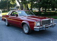 1976 Ford Granada Coupe